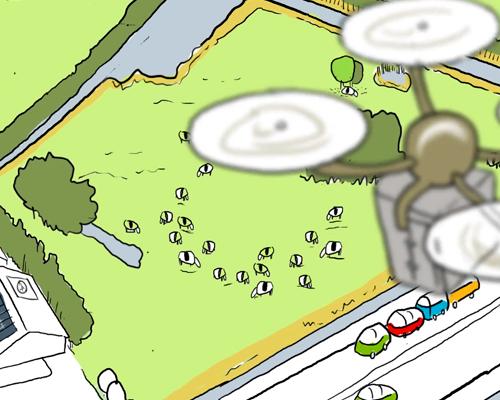 Friesland Omgevingslab animatie